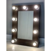Гримерное зеркало 70х50 Венге с подсветкой буквой П
