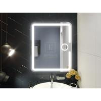 Зеркало в ванную комнату с подсветкой светодиодной лентой Баролло
