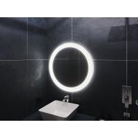 Зеркало в ванную комнату с подсветкой светодиодной лентой Латина Экстра