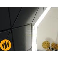 Зеркало в ванну с подсветкой и подогревом (антизапотеванием) Варна Компакт 60х80 см